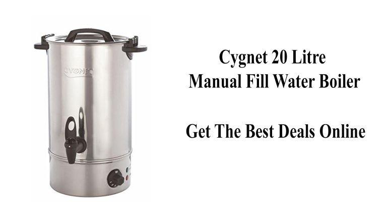 Cygnet 20 Litre Manual Fill Water Boiler