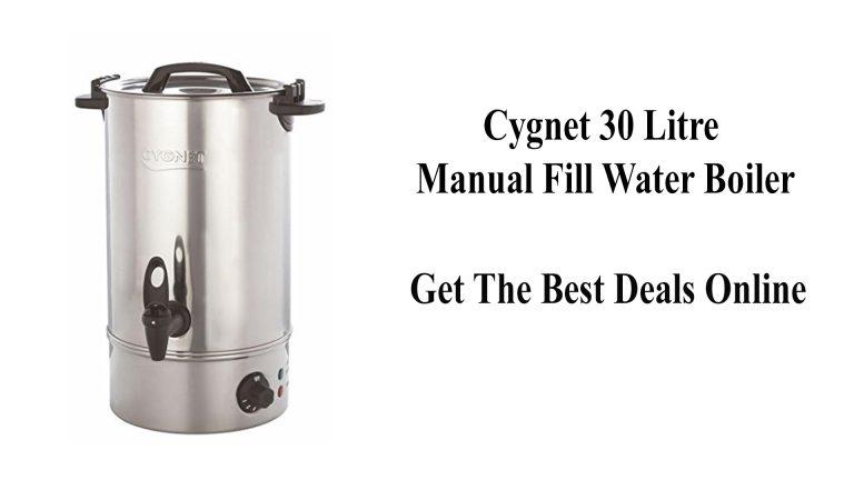 Cygnet 30 Litre Manual Fill Water Boiler